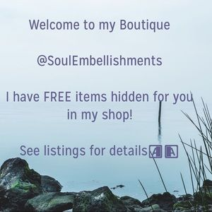 Other - 👉🏼🆓FREE ITEMS ARE HIDDEN IN MY SHOP 4 YOU! 🆓